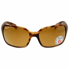 Ray Ban RB4068 642/57 60-17 Brown Classic Ladies  Sunglasses