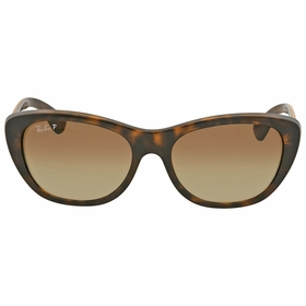 Ray Ban RB4227 710/T5 55 Highstreet Ladies  Sunglasses