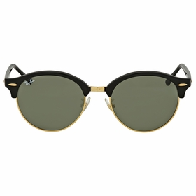Ray Ban RB4246F 901 53 Clubround Unisex  Sunglasses