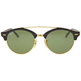 Ray Ban RB4346-901-51 Clubround Double Bridge Mens  Sunglasses