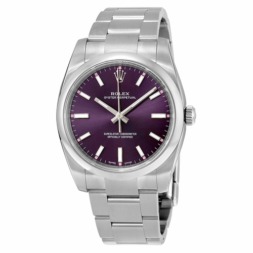 Rolex 114200RGSO Oyster Perpetual 34 Unisex Automatic Watch