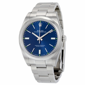 Rolex 114300BLSO Oyster Perpetual 39 Mens Automatic Watch