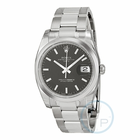 Rolex 115200BKSO Oyster Perpetual Date 34 Mens Automatic Watch