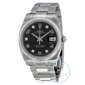 Rolex 115234BKADO Oyster Perpetual Date 34 Mens Automatic Watch