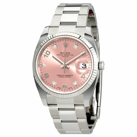 Rolex 115234PADO Oyster Perpetual Date 34 Mens Automatic Watch