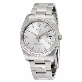 Rolex 115234SSO Oyster Perpetual Date 34 Mens Automatic Watch
