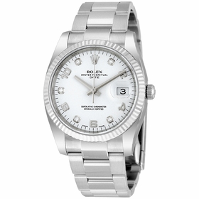 Rolex 115234WADO Oyster Perpetual Date 34 Mens Automatic Watch