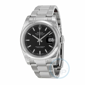 Rolex 116200-BKSO Datejust 36 Mens Automatic Watch