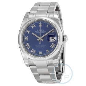 Rolex 116200BLRO Datejust 36 Mens Automatic Watch