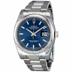 Rolex 116200-BLSO Datejust 36 Mens Automatic Watch
