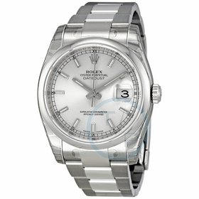 Rolex 116200-SSO Datejust 36 Unisex Automatic Watch