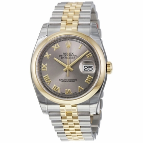 Rolex 116203RRJ Datejust 36 Mens Automatic Watch