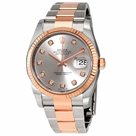 Rolex 116231CHFDAJ Oyster Perpetual Datejust Ladies Automatic Watch