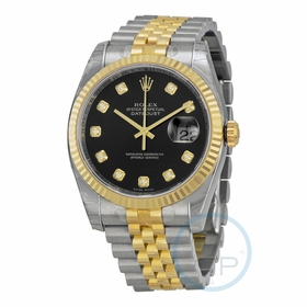 Rolex 116233-BKDJ Oyster Perpetual Datejust 36 Mens Automatic Watch