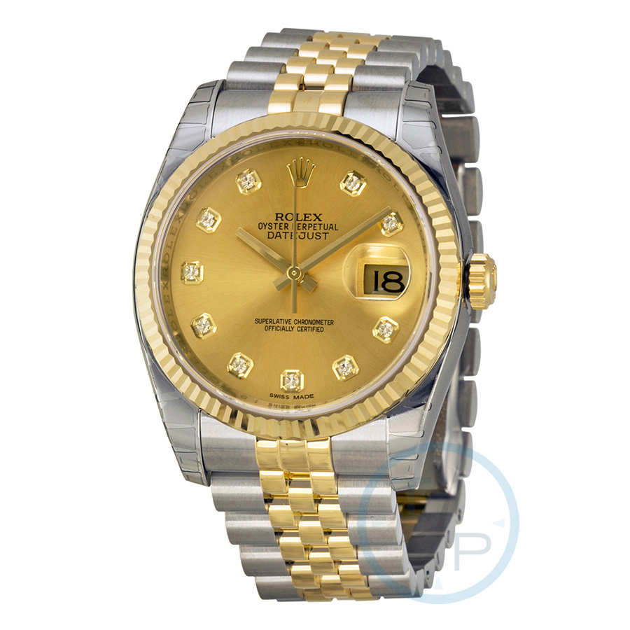 2e769001e77 Rolex 116233-CDJ Oyster Perpetual Datejust 36 Mens Automatic Watch