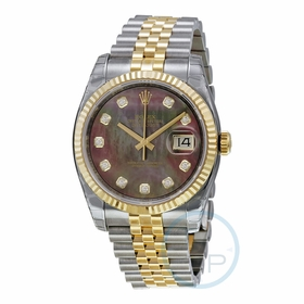 Rolex 116233BKMDJ Oyster Perpetual Datejust 36 Mens Automatic Watch