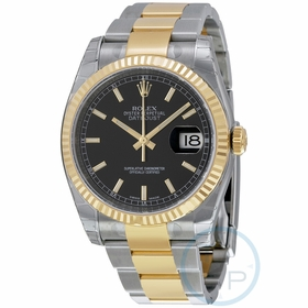 Rolex 116233BKSO Oyster Perpetual Datejust 36 Mens Automatic Watch