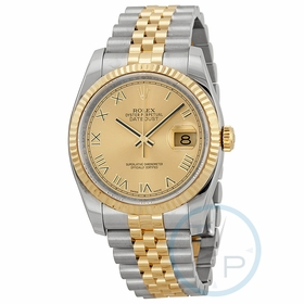 Rolex 116233CHRJ Oyster Perpetual Datejust 36 Mens Automatic Watch