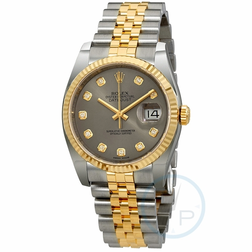 Rolex 116233RDJ Datejust 36 Ladies Automatic Watch