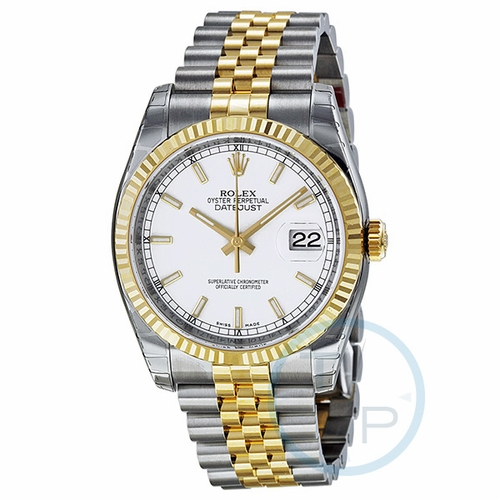 Rolex 116233WSJ Oyster Perpetual Datejust 36 Mens Automatic Watch
