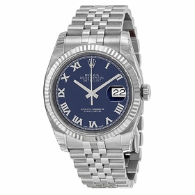 Rolex 116234-BLRJ Oyster Perpetual Datejust 36 Mens Automatic Watch