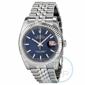 Rolex 116234-BLSJ Oyster Perpetual Datejust 36 Mens Automatic Watch