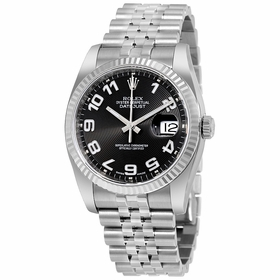 Rolex 116234BKCAJ Datejust Mens Automatic Watch