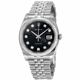 Rolex 116234BKJDJ Oyster Perpetual 36 Mens Automatic Watch