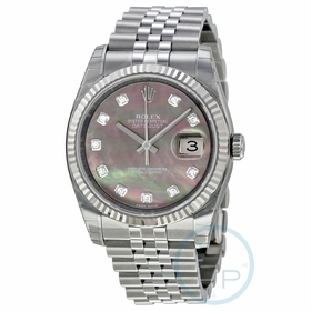 Rolex 116234BKMDJ Oyster Perpetual Datejust 36 Mens Automatic Watch