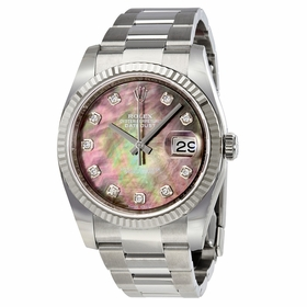 Rolex 116234BKMDO Oyster Perpetual Datejust 36 Ladies Automatic Watch
