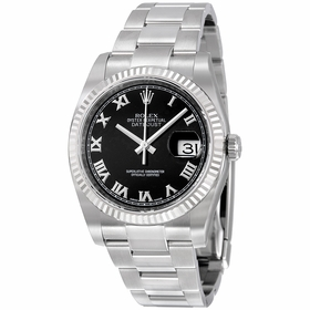Rolex 116234BKRO Oyster Perpetual Datejust 36 Ladies Automatic Watch