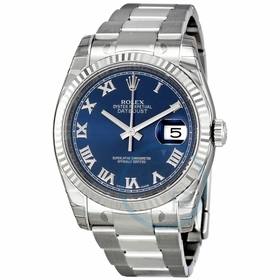 Rolex 116234BLRO Oyster Perpetual Datejust 36 Ladies Automatic Watch