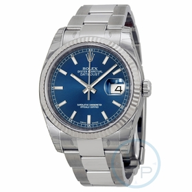 Rolex 116234BLSO Oyster Perpetual Datejust 36 Mens Automatic Watch
