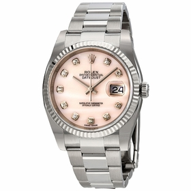 Rolex 116234PMDO Datejust Unisex Quartz Watch