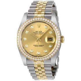 Rolex 116243CDJ Oyster Perpetual Datejust 36 Ladies Automatic Watch
