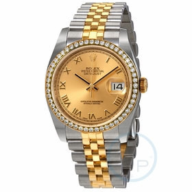 Rolex 116243CRJ Oyster Perpetual Datejust 36 Ladies Automatic Watch