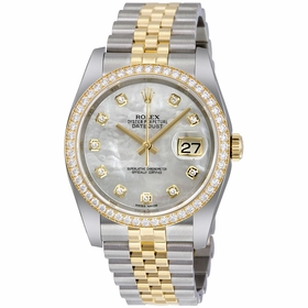 Rolex 116243MDJ Datejust 36 Ladies Automatic Watch