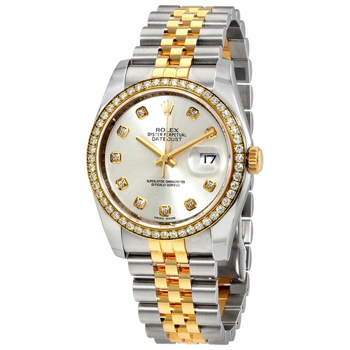 Rolex 116243SDJ Oyster Perpetual Datejust 36 Ladies Automatic Watch
