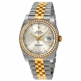 Rolex 116243SSJ Oyster Perpetual Datejust 36 Ladies Automatic Watch