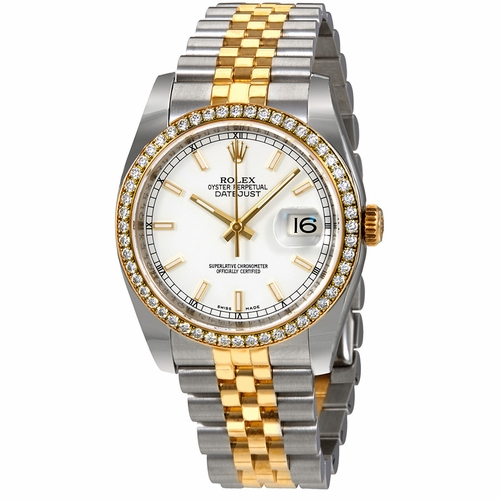 Rolex 116243WSJ Oyster Perpetual Datejust 36 Ladies Automatic Watch