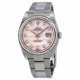 Rolex 116244 Datejust 36 Ladies Automatic Watch