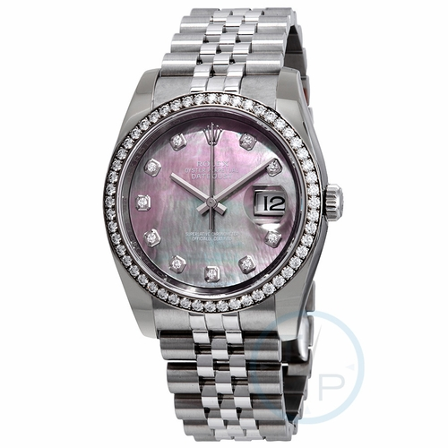 Rolex 116244BMDJ Oyster Perpetual Datejust 36 Mens Automatic Watch