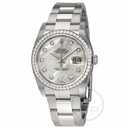 Rolex 116244MDO Oyster Perpetual Datejust 36 Ladies Automatic Watch