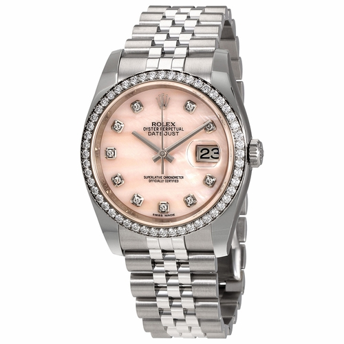 Rolex 116244PKMDJ Datejust Ladies Automatic Watch