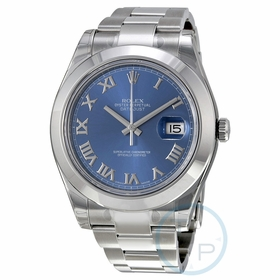 Rolex 116300BLRO Datejust II Mens Automatic Watch