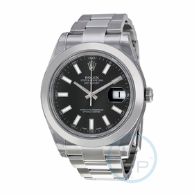 Rolex 116300BKSO Datejust II Mens Automatic Watch
