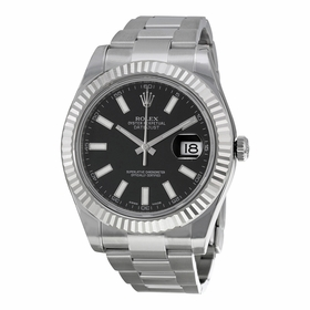 Rolex 116334BKSO Datejust II Mens Automatic Watch