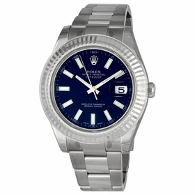 Rolex 116334BLSO Datejust II Mens Automatic Watch