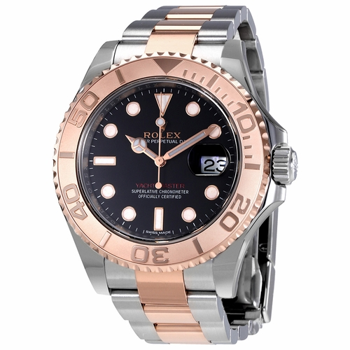 Rolex 116621BKSO Yacht-Master Mens Automatic Watch