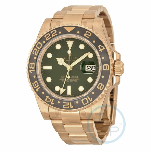 Rolex 116718GSO GMT Master II Mens Automatic Watch